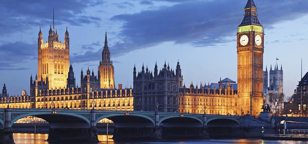 Nočný Londýn, Anglicko